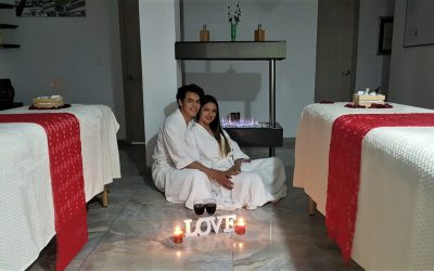 Conoce los super beneficios de un masaje relajante en pareja